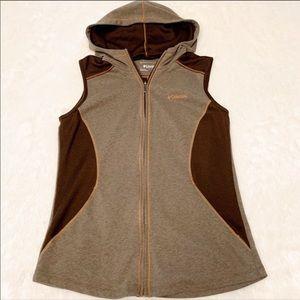 🆕 Columbia Zip Up Hooded Vest